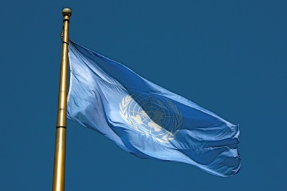 UN flag Sprik